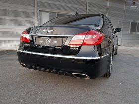 M&S ABS Plastic BH MATTE OR GLOSS BLACK Diffuser Genesis Sedan 2012 -2014