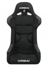 Corbeau FX1 PRO Fixed Back Seat in Black Suede