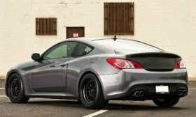 Advan OEM Carbon Trunk Genesis Coupe 2010 - 2016