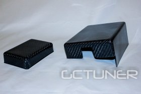 Khartunerz Carbon Fiber Fuse Box Covers 2010 - 2014