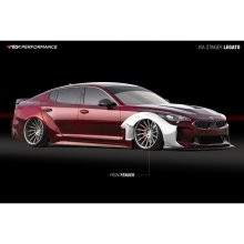 ARK PERFORMANCE LEGATO Front Widebody Kit KIA STINGER 2018 - 2019