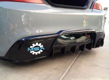 MyRides FRP Single Exit Rear Diffuser Genesis Coupe 2010 - 2015