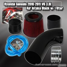 JDM Sport Short Ram Intake for Genesis Coupe 3.8 - Black