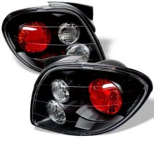 Hyundai Tiburon 00-02 Altezza Tail Lights - Black