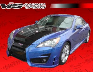 Vis Racing Tornado Side Skirts Genesis Coupe 2010 - 2013