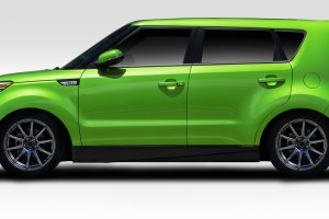 Duraflex Racer Side Skirts 2 Piece Kia Soul 2015-2016