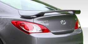 Extreme Dimensions Duraflex Track Look Wing Spoiler Hyundai Genesis Coupe 2010 - 2013+