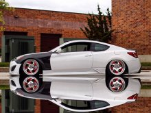 M&S Carart Nite Road-B Sideskirts Genesis Coupe 2010 - 2016