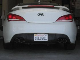 DC Sports 2.0T Cat back Genesis Coupe 2010 - 2014