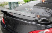 Genesis Coupe ABS Dynamic Carbon Fiber RS Rear Spoiler 2010 - 2013