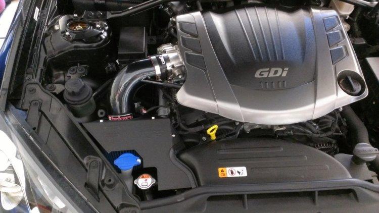 Injen SP1392P Polished Cold Air Intake for 2013-2016 Hyundai Genesis 3.8L V6
