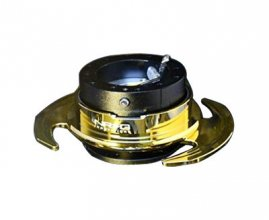 Nrg Black and Gold Gen 3.0 Steering Wheel Hub Genesis Coupe