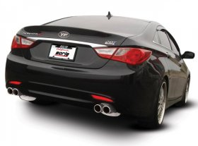 Borla Cat-back TM & Rear Section exhaust systems Hyundai Sonata 2011-2015 2.0L 4cyl Turbo