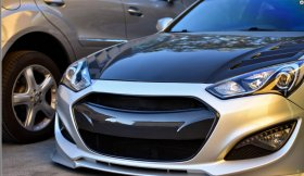 Vis Racing Carbon Fiber Grill Genesis Coupe 2013 - 2016