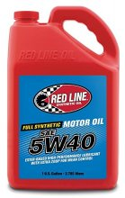 Redline Synthetic 5W40 MOTOR OIL - Gallon