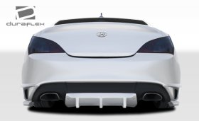 TP-R Rear Duraflex Lip Spoiler with Diffuser - 2 Piece 2010-2013+ Hyundai Genesis Coupe