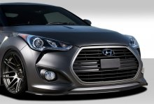 Extreme Dimensions GT Racing Front Splitter Hyundai Veloster Turbo Duraflex 2012 - 2017