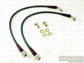 ENTHUSPEC REAR STAINLESS STEEL BRAIDED BRAKE LINES 2010 - 2014 GENESIS COUPE