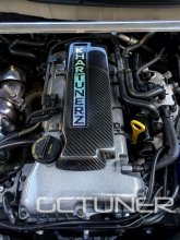 Khartunerz Carbon Fiber Coil Pack Cover 2010 - 2014