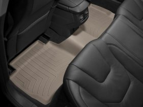 WeatherTech Rear FloorLiner-Tan Kia Optima 2011+