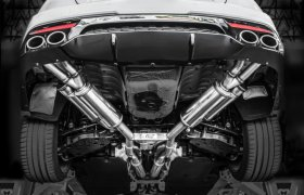 MagnaFlow Stainless Cat Back Perf Exhaust Kia Stinger V6 3.3L 2018+
