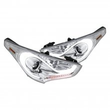 Spec-D LED CHROME PROJECTOR HEADLIGHTS Veloster 2012 - 2015