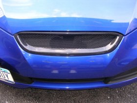 Carbon Fiber Sarona Front Grill 2010 - 2012 Genesis Coupe