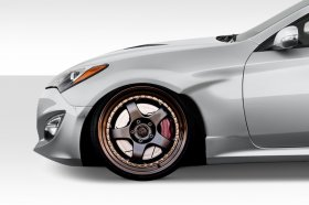 Extreme Dimensions Duraflex MSR V1 50mm Front Fenders Genesis Coupe - 4 Piece