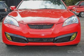M&S Fog light bezels in Matte Black Genesis Coupe 2010 - 2012