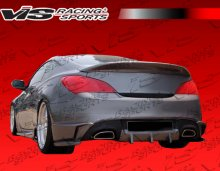 Vis Racing Tornado Rear Bumper Add On Genesis Coupe 2010 - 2016