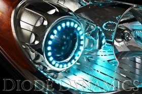 Diode Dynamics Multicolor Angel Eyes - Genesis Coupe 2010 - 2016