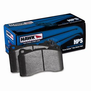 Genesis Coupe Hawk HPS Base Model - Rear Pads 2010 - 2012