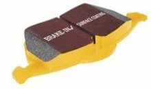 Genesis Coupe EBC Yellow Front Brake Pads for Track Model (Brembo) 2010 - 2012