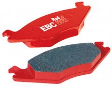 Front Brembo EBC Red Stuff Brake Pads for Genesis Coupe