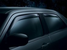 WeatherTech Front and Rear Side Window Deflectors Kia Optima 2011+