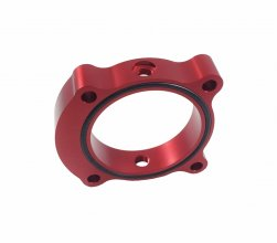 Torque Solution Red Throttle Body Spacer 2.0T 2013 - 2014