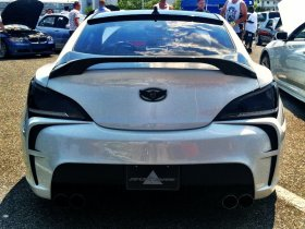 Vega Rear Bumper Genesis Coupe 2010 - 2016