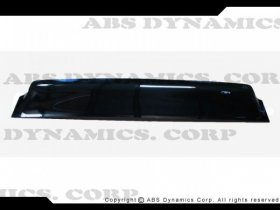 Abs Dynamics REAR ROOF WINDOW VISOR HYUNDAI GENESIS COUPE 2010 - 2016