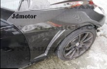 Hyundai Genesis Coupe ABS Dynamic Carbon Fiber Fenders 2010 - 2016