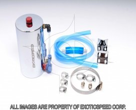 ExoticSpeed Aluminum OIL CATCH TANK (480CC)