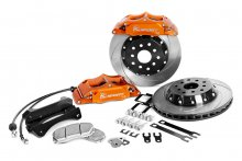 "KSPORT REAR PROCOMP 14"" 8 PISTON BIG BRAKE KIT FOR 2010 - 2014 GENESIS COUPE"