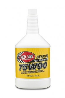 Redline Synthetic 75W90 Differential Gear Oil - Quart