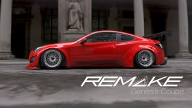 Remake Widebody kit Genesis Coupe 2013 - 2015