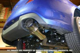 Genesis Coupe Greddy Racing Ti-C Exhaust for 2.0T 2010 - 2012