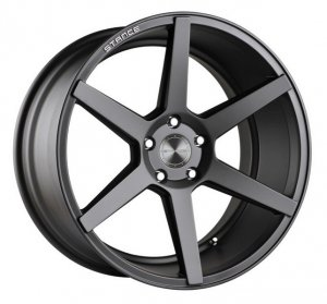 20 INCH STANCE SC-6ix Slate Grey WHEELS - SET