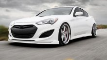Sequence Spec-RS Front Lip Genesis Coupe 2013 - 2015