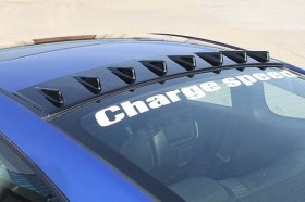 Chargespeed Carbon Fiber Roof Fin Genesis Coupe 2010 - 2016