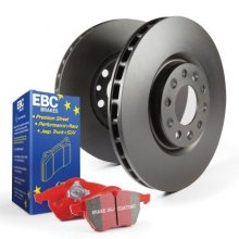 EBC Redstuff Front Brake Pads & Rotor Kia Optima 2011-2015