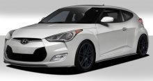 2012-2014 Hyundai Veloster Duraflex GT Racing Body Kit - 5 Piece
