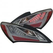ANZO LED TAIL LIGHTS SMOKE GENESIS COUPE 2010 - 2016